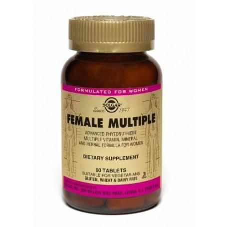 Female Multiple (Complejo para la mujer) 60 comprimidos Solgar