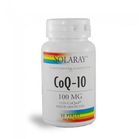 CoQ10 100 mg 30 perlas Solaray
