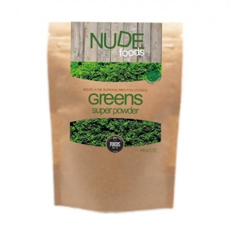 SuperGreens 400g Nude Foods
