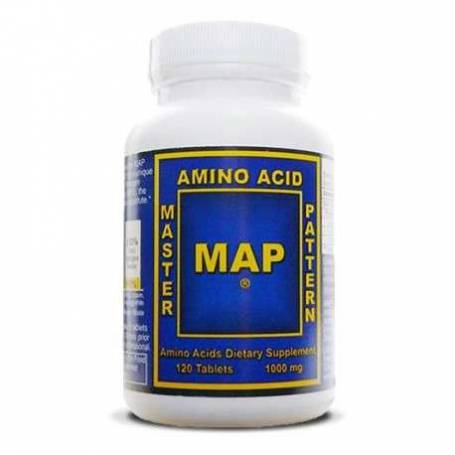 MAP Master Amino Acid Pattern-120 tabs